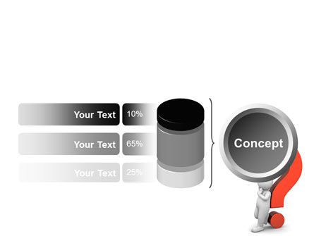 Question Mark PowerPoint Template Slide 11