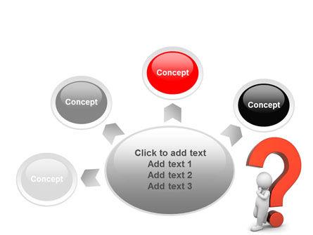 Question Mark PowerPoint Template Slide 7