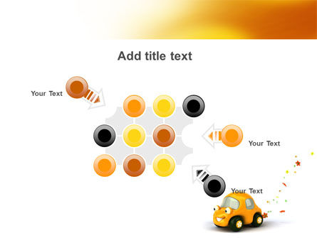 Orange Toy Car PowerPoint Template Slide 10