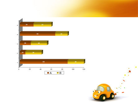 Orange Toy Car PowerPoint Template Slide 11