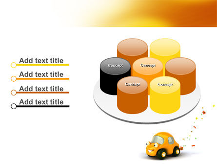 Orange Toy Car PowerPoint Template Slide 12