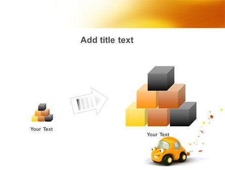 Orange Toy Car PowerPoint Template Slide 13