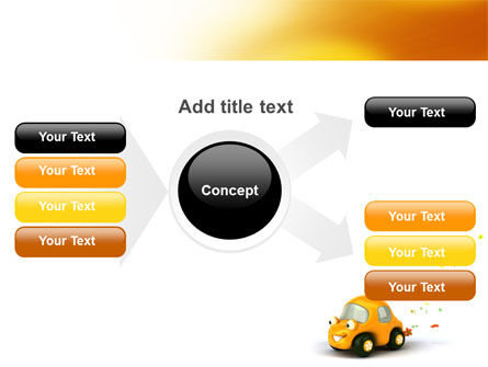 Orange Toy Car PowerPoint Template Slide 15