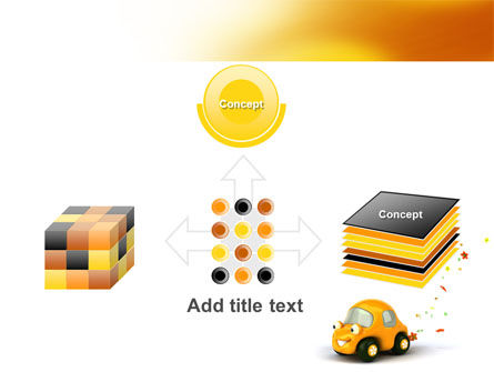 Orange Toy Car PowerPoint Template Slide 19