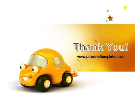 Orange Toy Car PowerPoint Template Slide 20
