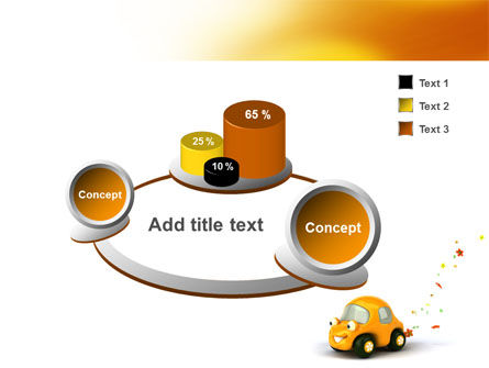 Orange Toy Car PowerPoint Template Slide 6