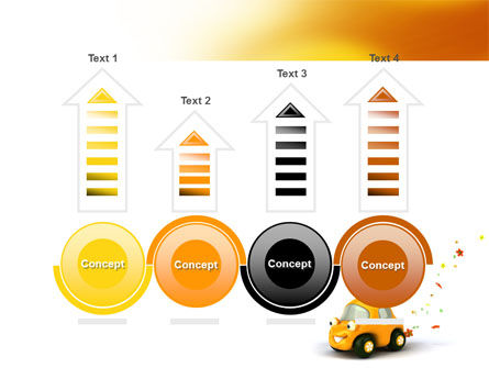 Orange Toy Car PowerPoint Template Slide 7