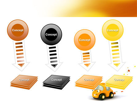 Orange Toy Car PowerPoint Template Slide 8