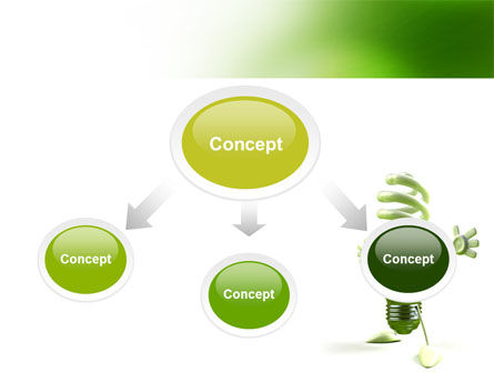 Energy Save Lamp PowerPoint Template, Slide 4, 06657, Nature & Environment — PoweredTemplate.com