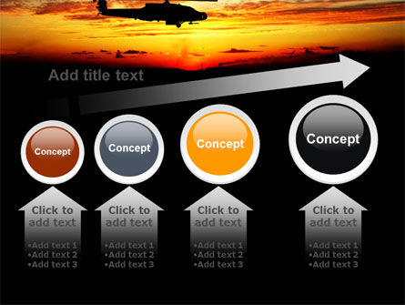 Apache Helicopter AH-64 PowerPoint Template Slide 13
