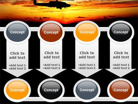 Apache Helicopter AH-64 PowerPoint Template Slide 18