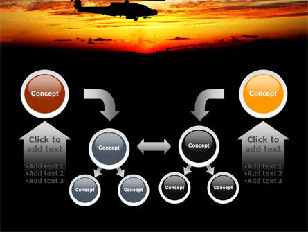 Apache Helicopter AH-64 PowerPoint Template Slide 19