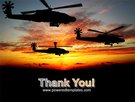 Apache Helicopter AH-64 PowerPoint Template Slide 20