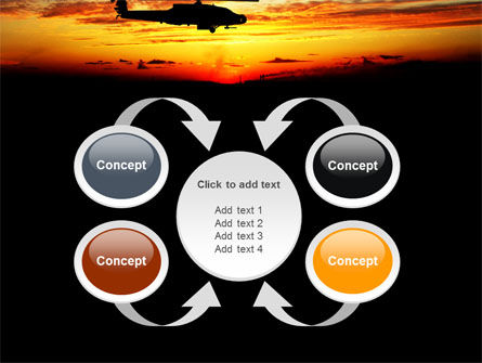 Apache Helicopter AH-64 PowerPoint Template Slide 6
