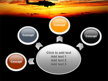 Apache Helicopter AH-64 PowerPoint Template Slide 7