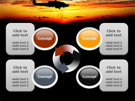Apache Helicopter AH-64 PowerPoint Template Slide 9