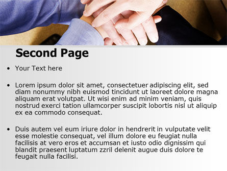 Vow PowerPoint Template, Slide 2, 06660, Business — PoweredTemplate.com