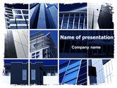 Construction: Modèle PowerPoint de génie civil #06663
