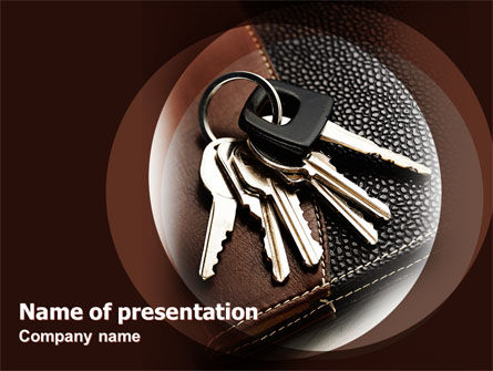 Bunch Of Keys PowerPoint Template