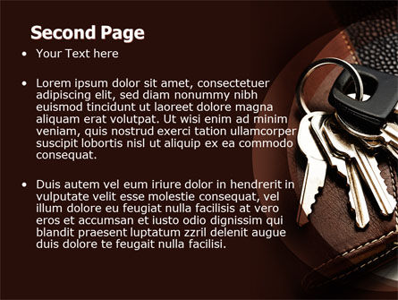 Bunch Of Keys PowerPoint Template, Slide 2, 06666, Business Concepts — PoweredTemplate.com