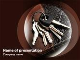 Bunch Of Keys PowerPoint Template#1