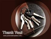 Bunch Of Keys PowerPoint Template#20