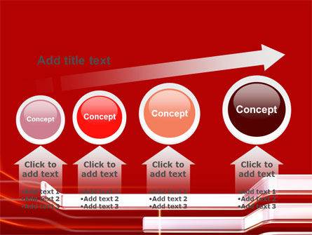 Abstract Red PowerPoint Template Slide 13