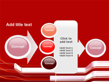 Abstract Red PowerPoint Template Slide 17