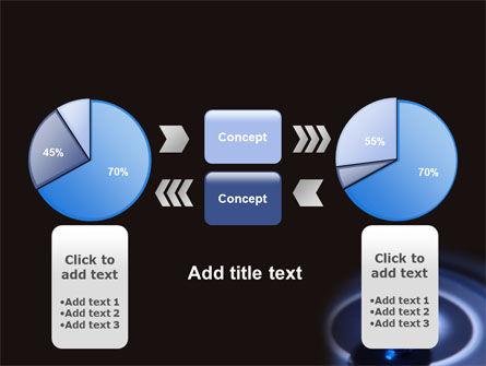 Blue World Globe PowerPoint Template Slide 11