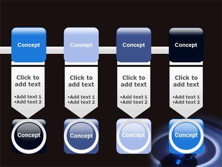 Blue World Globe PowerPoint Template Slide 18
