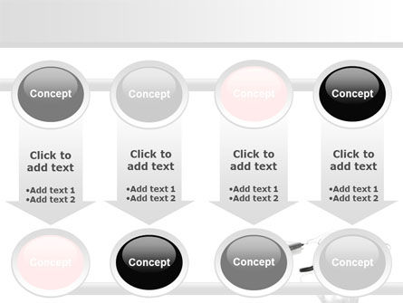 Earphones For Mp3 Player PowerPoint Template Slide 18