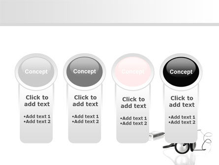 Earphones For Mp3 Player PowerPoint Template Slide 5