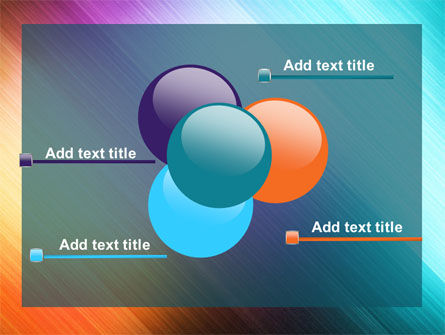 Abstract Rainbow PowerPoint Template Slide 10