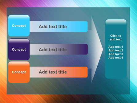 Abstract Rainbow PowerPoint Template Slide 12