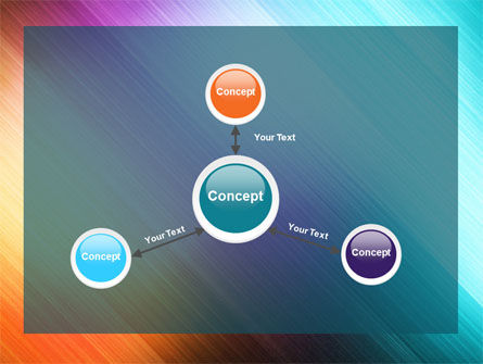 Abstract Rainbow PowerPoint Template Slide 14