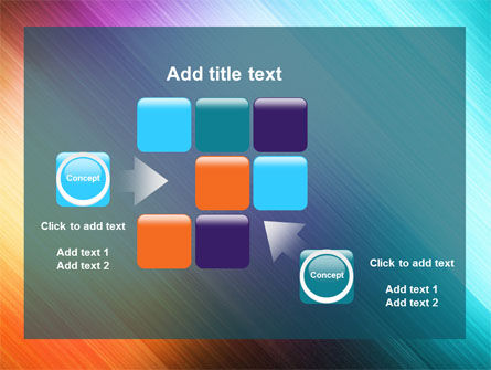 Abstract Rainbow PowerPoint Template Slide 16