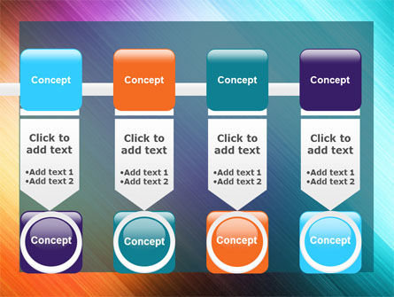 Abstract Rainbow PowerPoint Template Slide 18