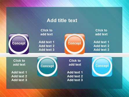 Abstract Rainbow PowerPoint Template Slide 19
