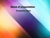 Abstract/Textures: Abstract Rainbow PowerPoint Template #06673