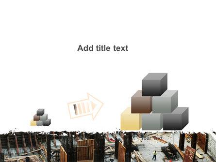 Big Building Site PowerPoint Template Slide 13