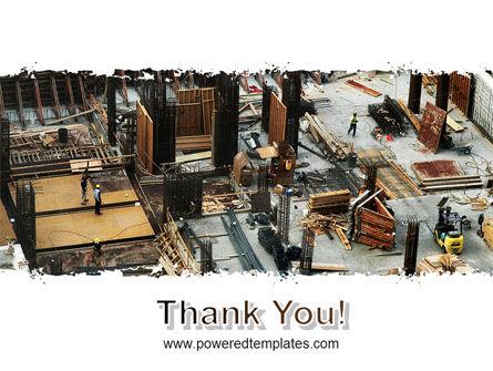 Big Building Site PowerPoint Template Slide 20
