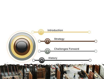 Big Building Site PowerPoint Template Slide 3