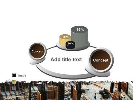 Big Building Site PowerPoint Template Slide 6