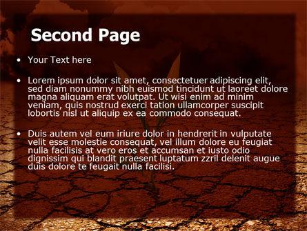 Survival In Desert PowerPoint Template, Slide 2, 06680, Nature & Environment — PoweredTemplate.com