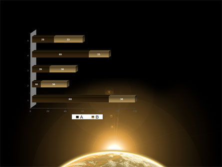 Sepia Sunrise in Space PowerPoint Template Slide 11