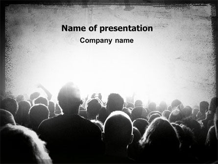 Art & Entertainment: Mob PowerPoint Template #06683