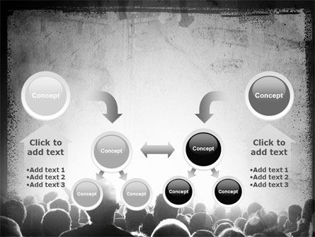 Mob PowerPoint Template Slide 19