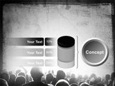Mob PowerPoint Template#11