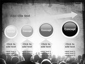 Mob PowerPoint Template#13