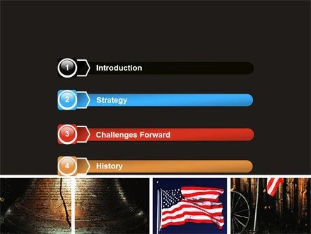 Memorial Day Collage PowerPoint Template, Slide 3, 06684, Holiday/Special Occasion — PoweredTemplate.com